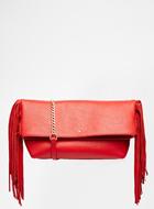 Fiorelli Tyra Fringed Clutch Bag