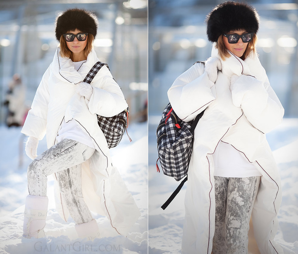 real snowy winter outfit ideas padded coat down coat outfit margiela for Hu0026M & Cold weather outfit ideas | When itu0027s really-really cold outside ...