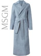 MSGM Suede Coat