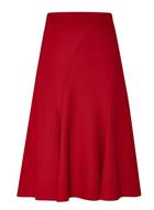 CC Textured Flared Skirt