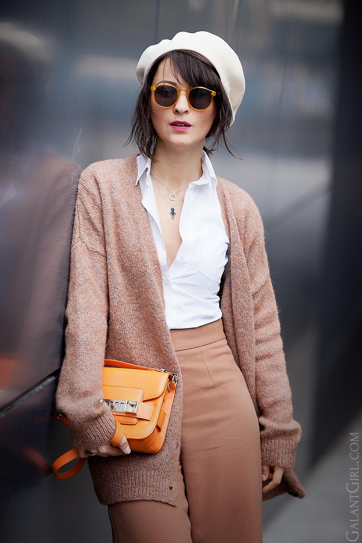 caramel+colors+outfit-wool+beret+outfit