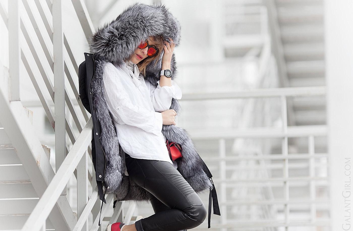 c901f61a8eba Fur parka. - Galant Girl - Блог о стиле и моде - Galant Girl – Блог ...