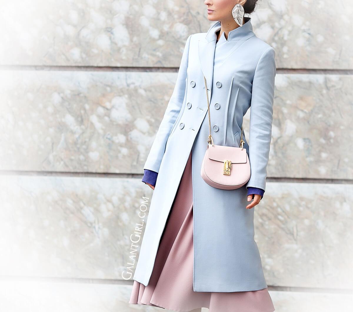 how-to-wear-light+blue+coat