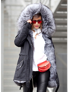 WILDWOOD Fur Parka