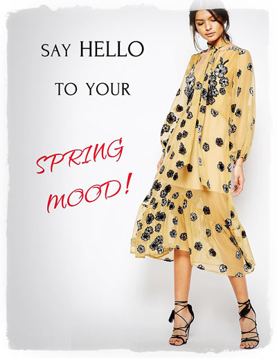 Create your Spring Mood!