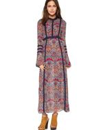 Raga Long Sleeve Maxi Dress