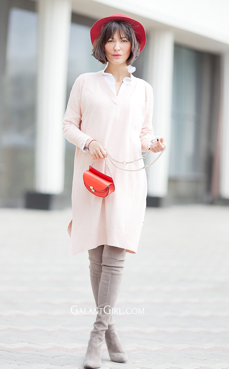 blush-asos-jumper-dress-outfit