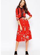 ASOS TALL Premium Dress