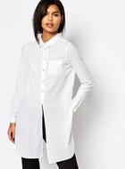 Vero Moda Side Split Shirt
