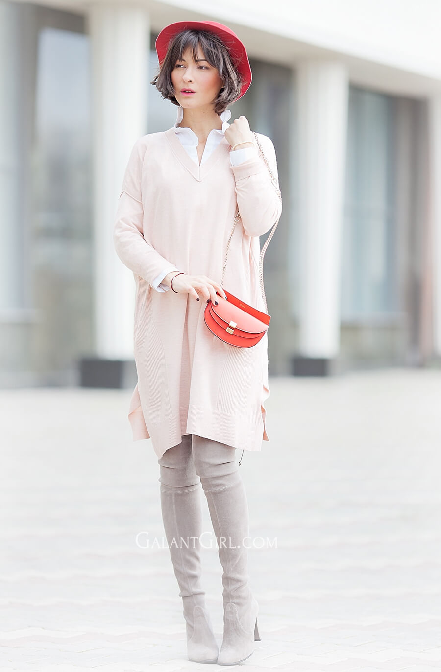 peach-white-asos-jumper-dress-street-style-ideas-for-spring-2016