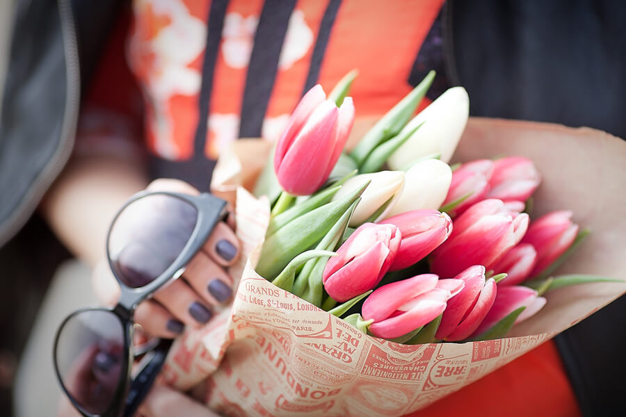 red+tulips