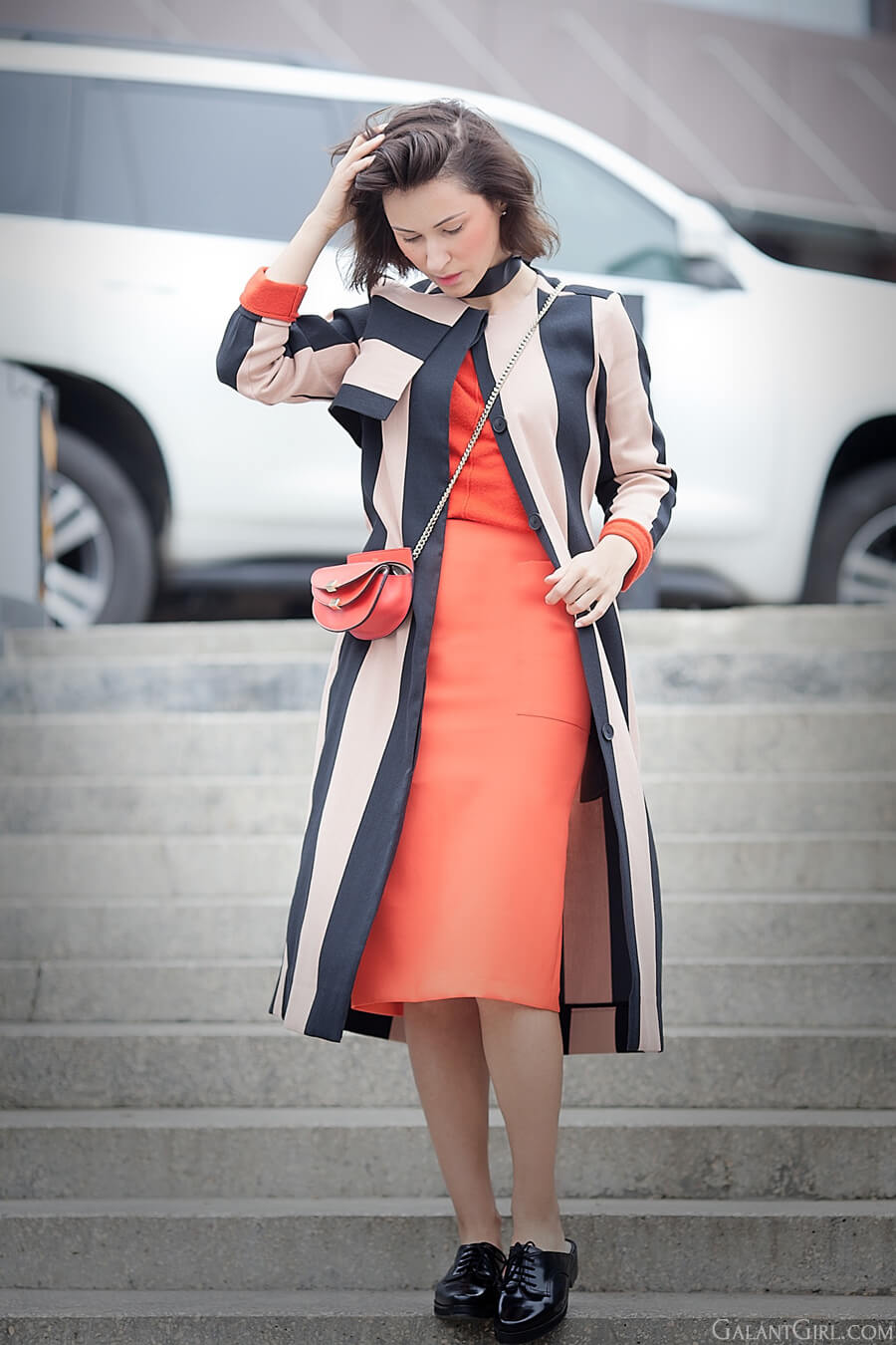 asos-striped-coat-coral-pencil-skirt_spring-outfit-ideas