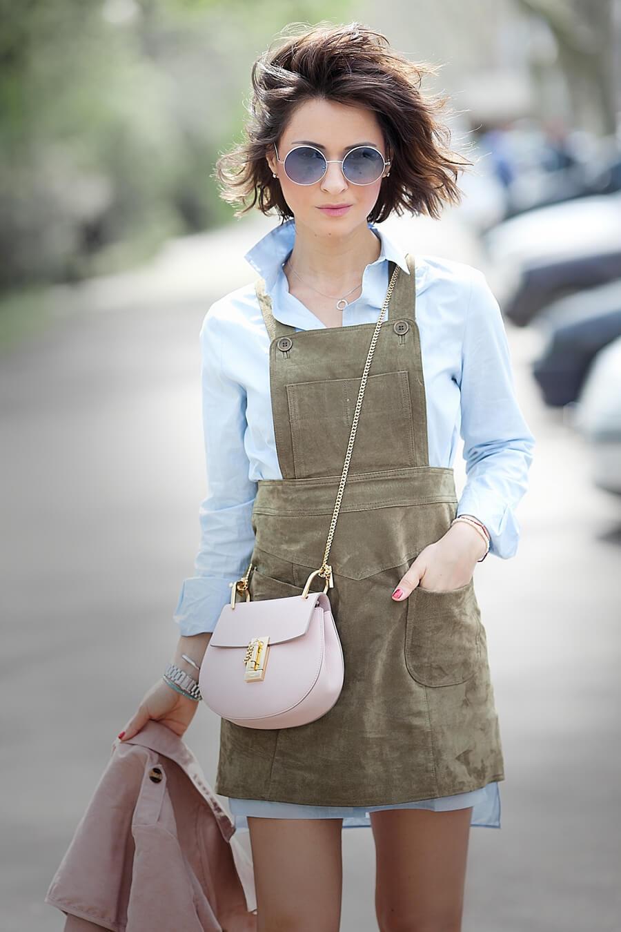 asos-suede-dress_chloe-drew-bag-in-cement-pink