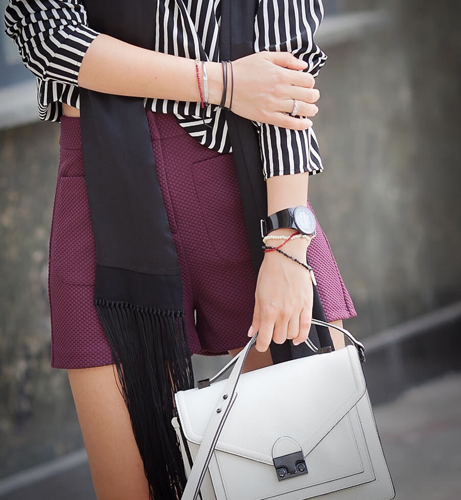 asos+shorts_mango-striped+top