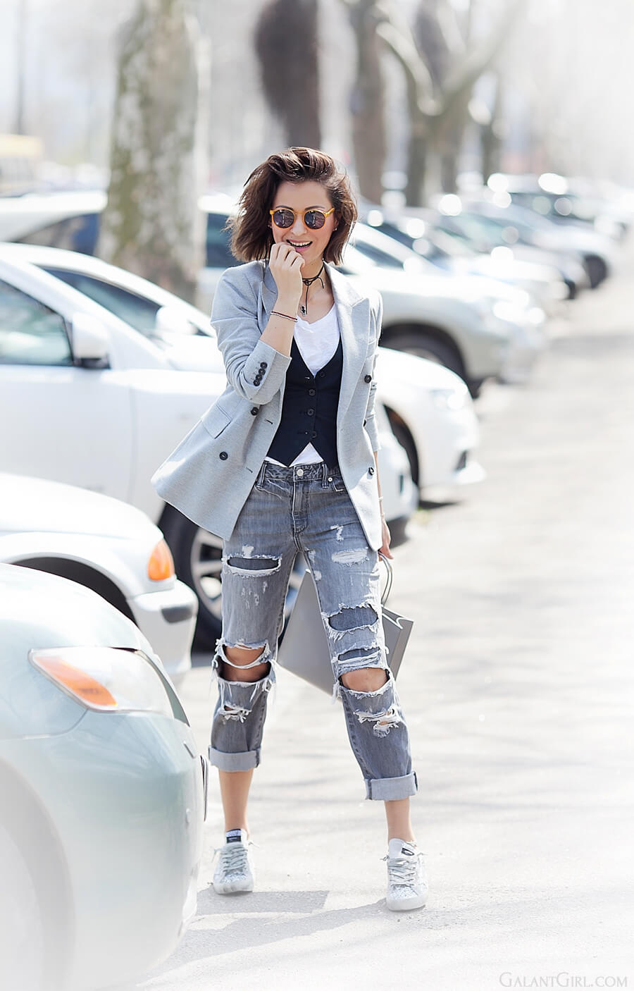 distressed+jeans+outfit-with-blazer