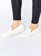 ASOS DOODLE Slip On Trainers