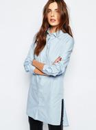 Vila Longline Shirt