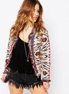 Glamorous Petite Aztec  Jacket