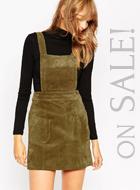 ASOS Mini Skirt in Suede