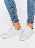 Vagabond Zoe Leather White Trainers