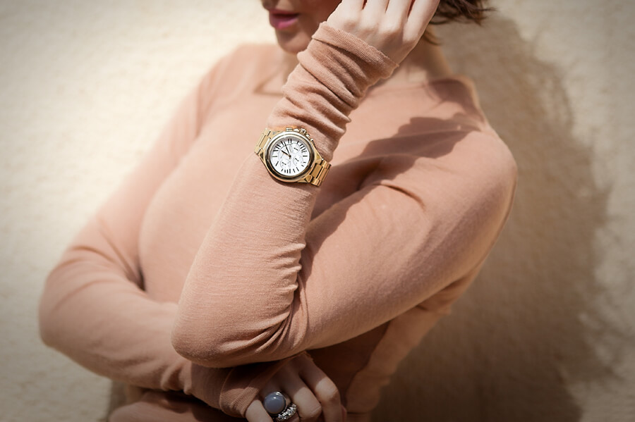 michael+kors+golden-watch