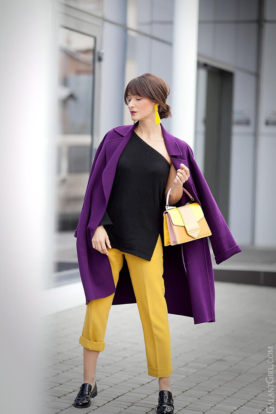 purple-max-mara-coat_asos-mustard-pants_spring-outfit-ideas