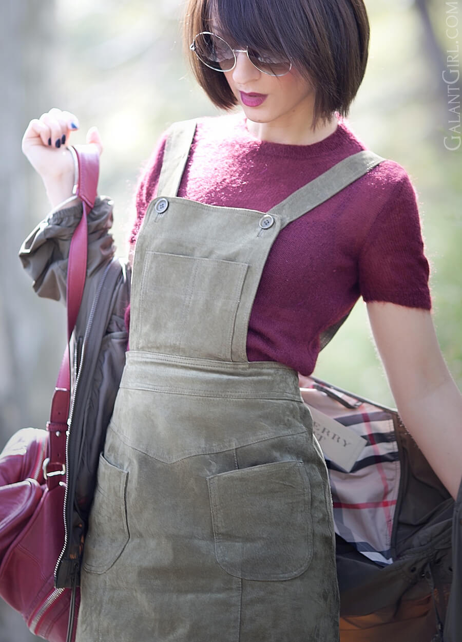 suede-dress-with-Pinafore-Bodice