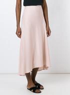 THEORY  flared ruffled skirt