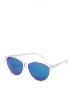 3.1 Phillip Lim Oval Mirrored Sunglasses