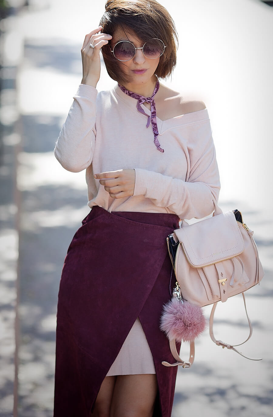 burgundy-skirt_asos-blush-jumper