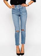ASOS Farleigh Slim Mom Jeans
