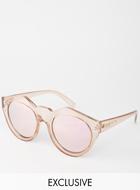 Le Specs Mirror Sunglasses
