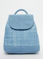 ASOS Denim Woven Backpack
