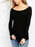 ASOS Top with Off Shoulder detail