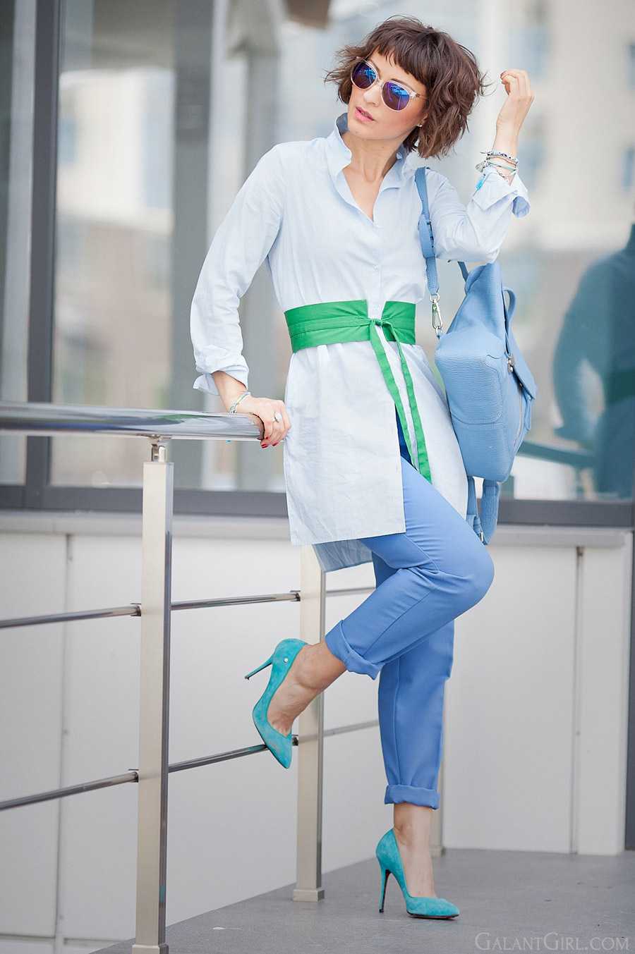 shirt-dress-outfit-for-summer_colorblock-outfit-ideas-for-spring