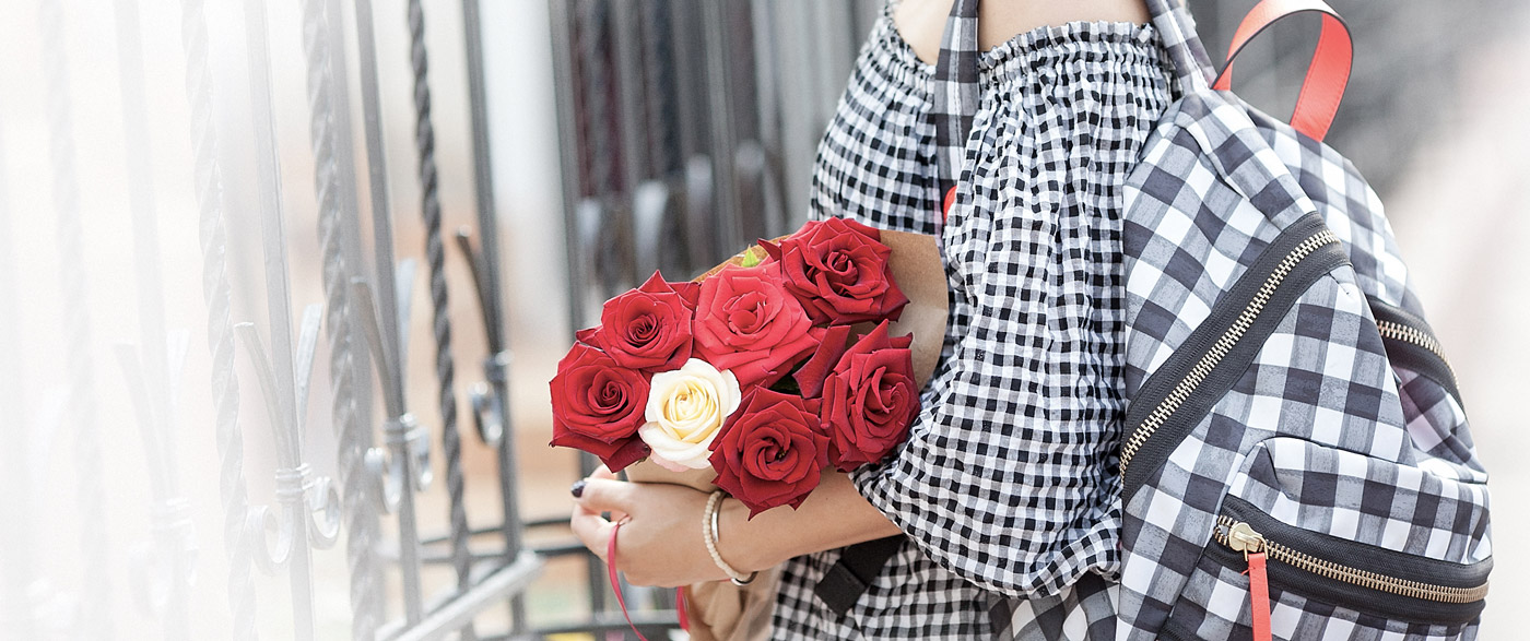 gingham-check_red-roses