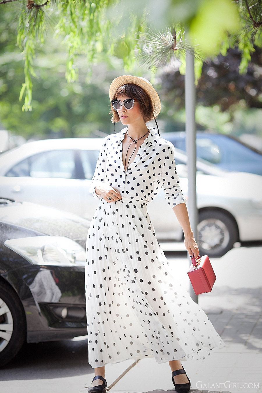 maxi-dress-in-polka-dot-print-for-summer