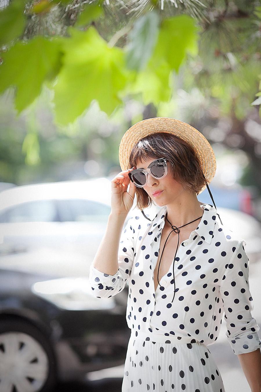 polka-dot-shirt-for-summer