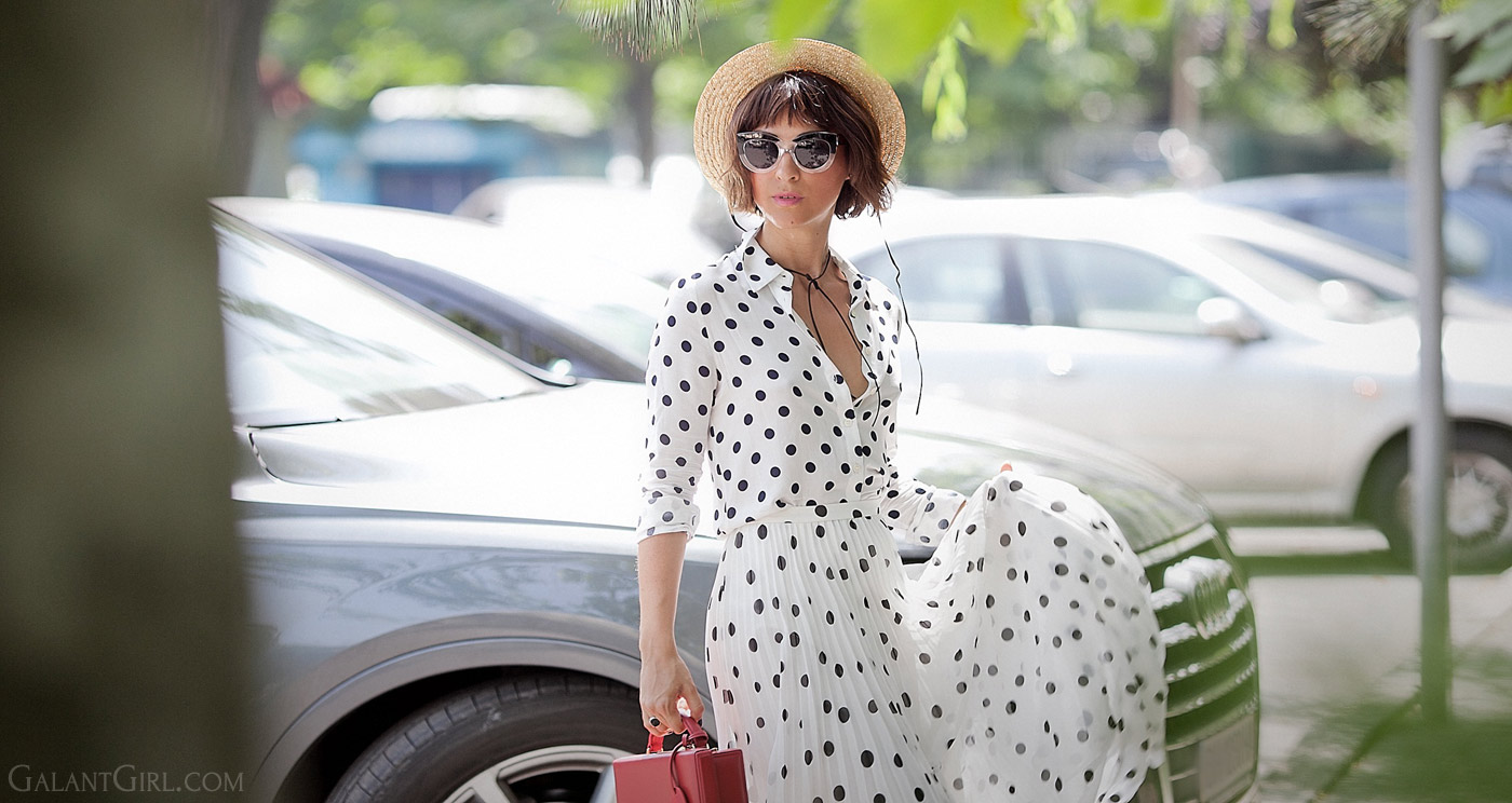 polka-dots-outfit-for-summer