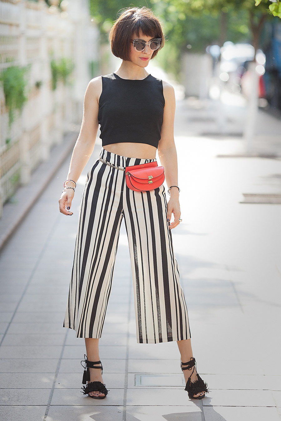 striped-culottes-outfit-ideas