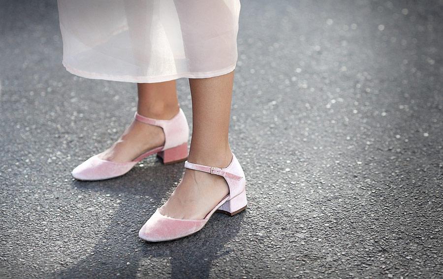 вельветовые туфли Асос