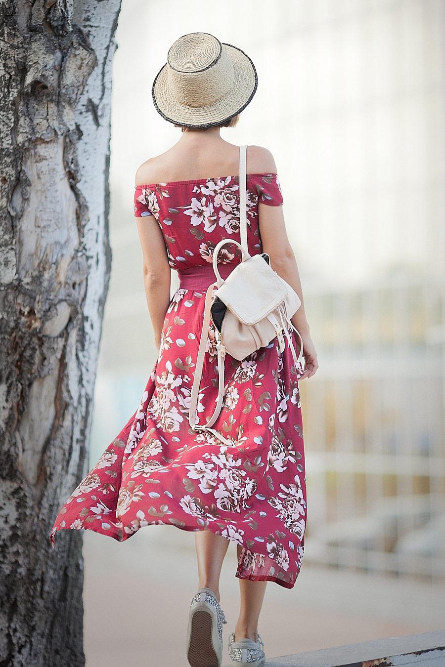 красивое женское макси платье на лето