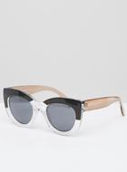 ASOS Cat Eye Sunglasses