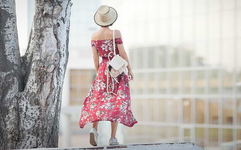 Floral Boho Style