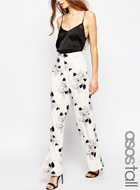 Floral printed pants