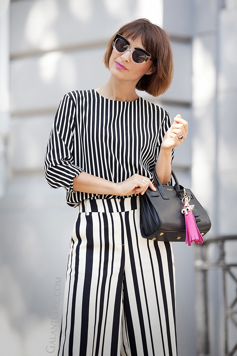 total striped look, summer outfits, striped top outfits,