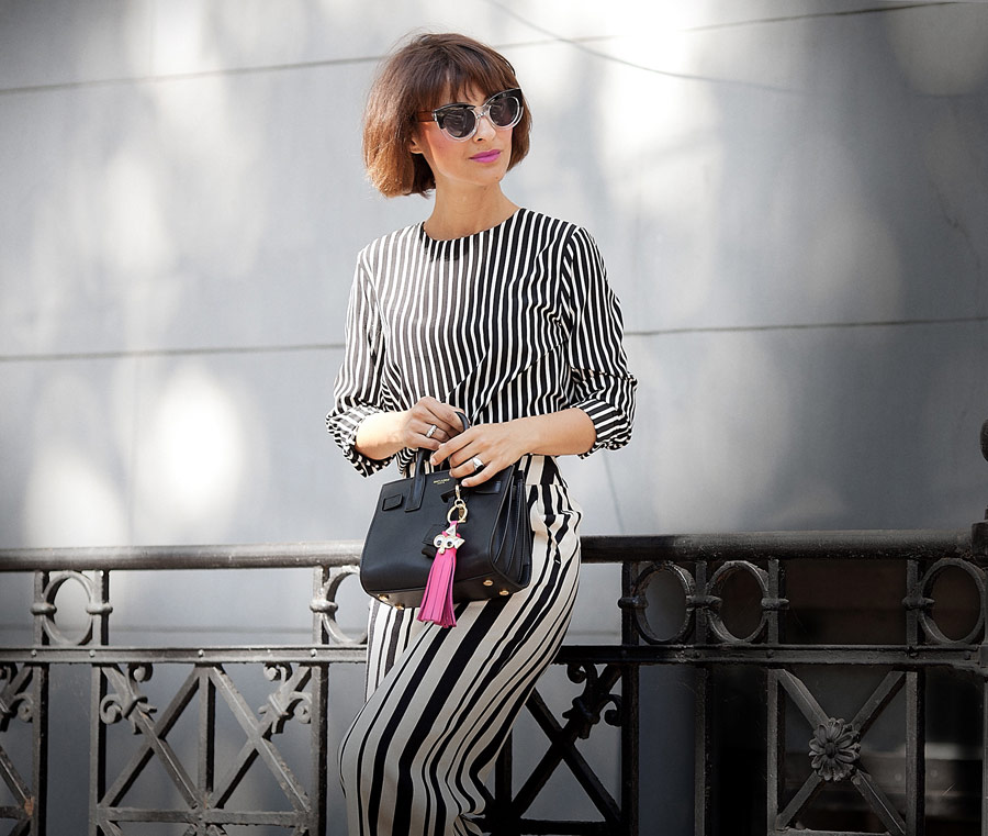 total striped look for hot summer days, summer styles,