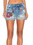 MOTHER embellished shorts
