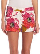 Trina Turk Floral Printed Shorts