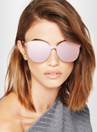 KAREN WALKER mirrored sunglasses